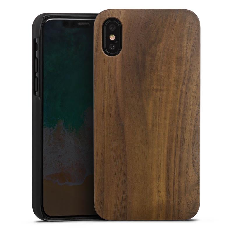Holz Hard Case Walnuss