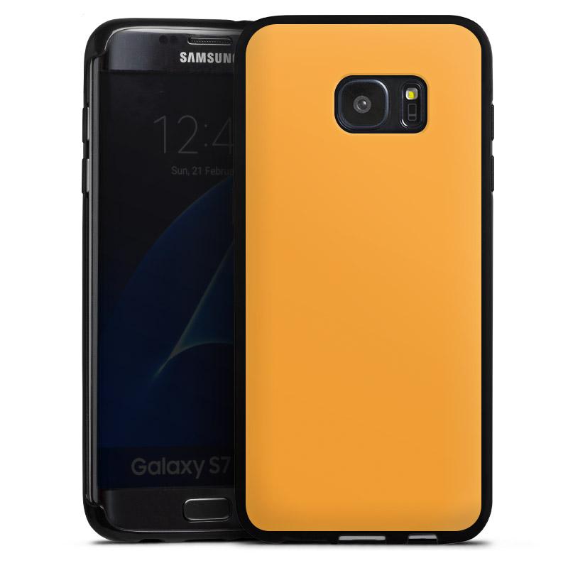 Calendrier Samsung S7.Melon Pour Coque En Silicone Noir Pour Samsung Galaxy S7