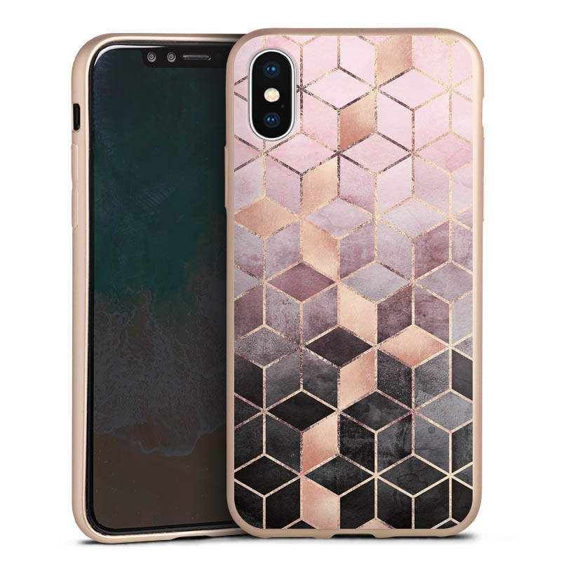 Silikon Metallic Case gold