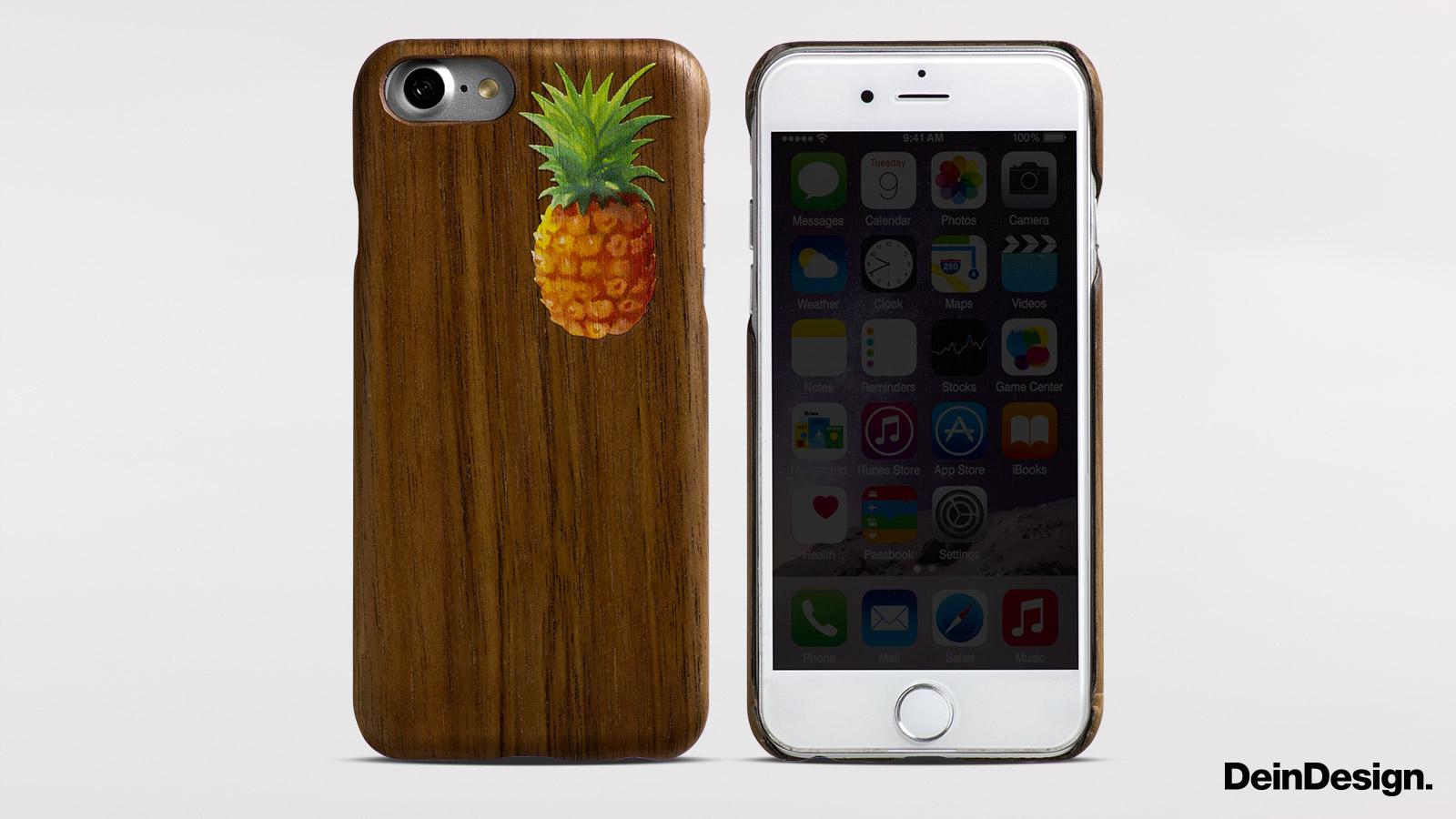 Holz Slim Case Walnuss