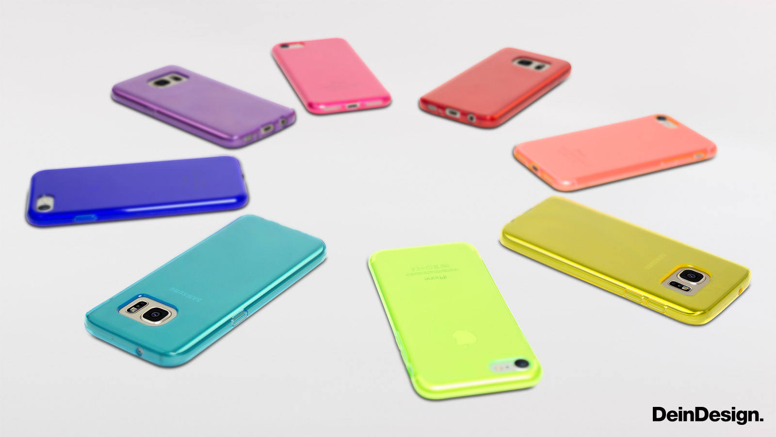 Silikon Colour Case neon-orange