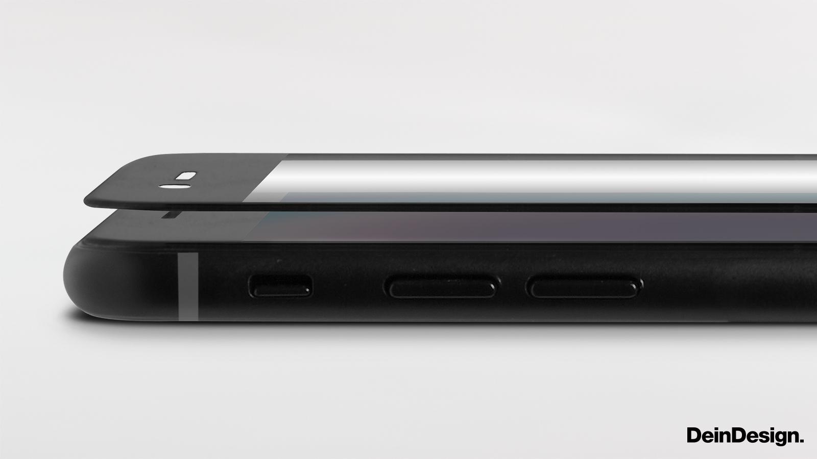 Displayschutz 3D-Glas schwarz