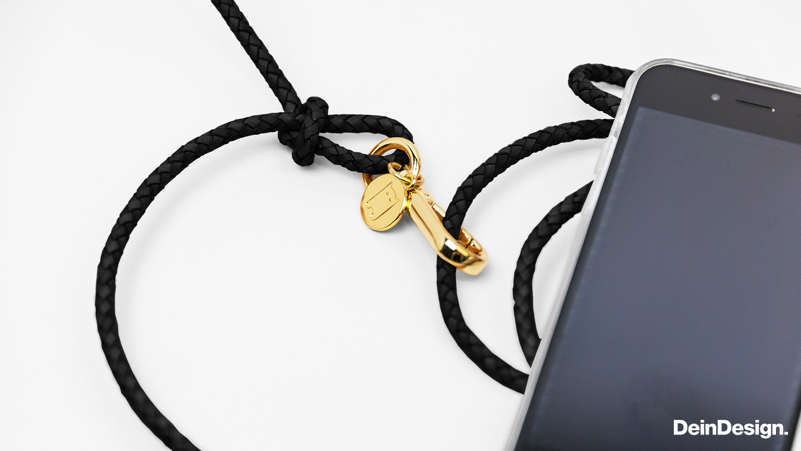 Carry Case Transparent schwarz/gold