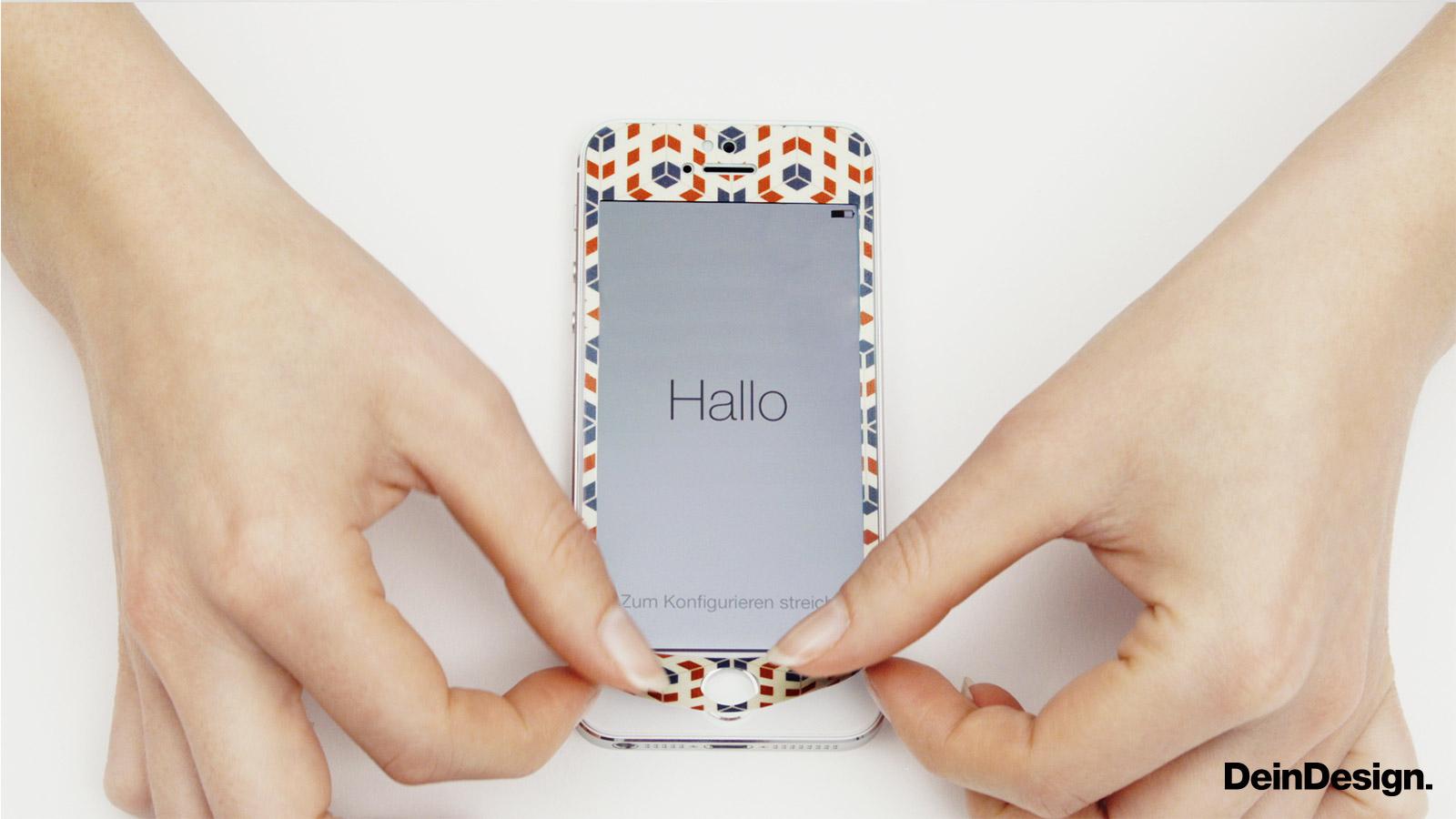 Folien für Smartphones matt