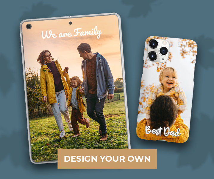 Customize phone cases and more